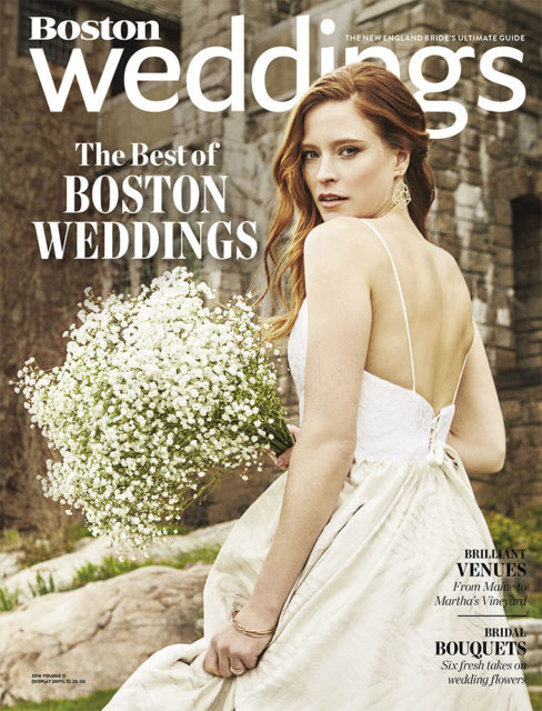 Boston Weddings - 2016 - Here Comes the Brunch Cover