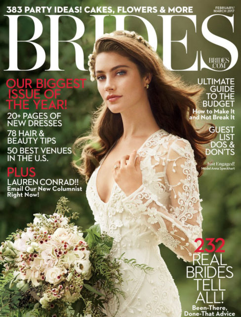 Brides Magazine - Press - Cover 2017