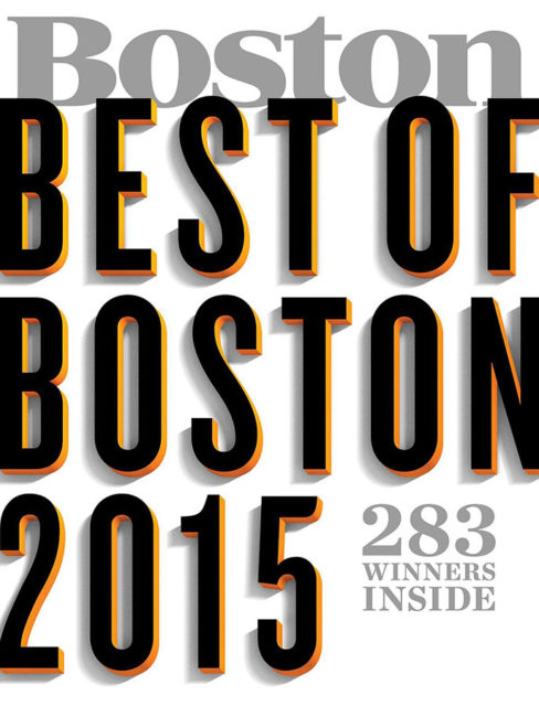 Boston Magazine - Best of Boston 2015 Cover