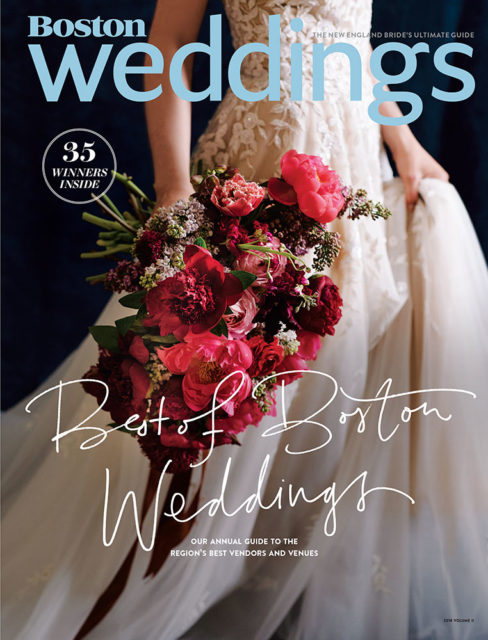 Boston Weddings - 2018 - Vegetarian Delights Cover