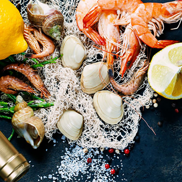 Forklift Catering - Boston - Food Source - Constitution Seafoods