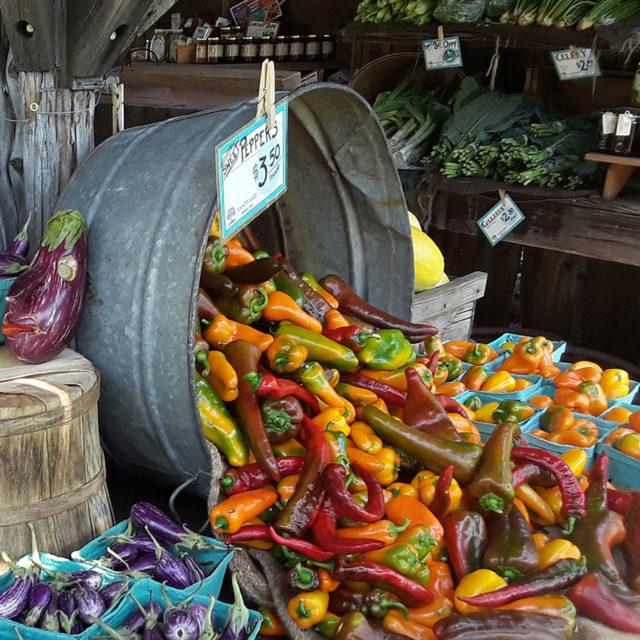 Forklift Catering - Boston - Food Source - Land's Sake Farm