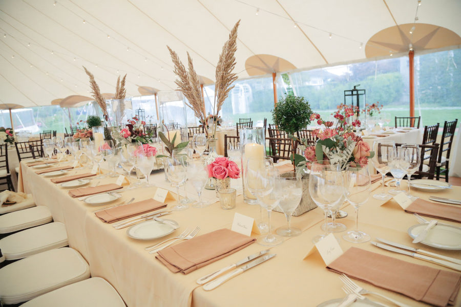 forklift-catering-dennis-kwan-tented-event