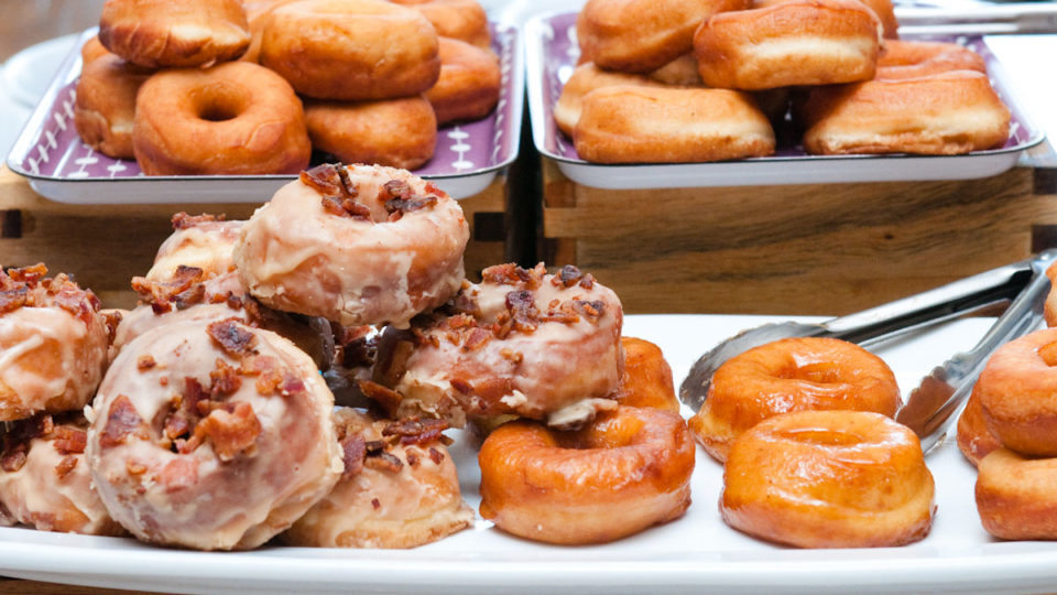 Forklift Catering - Social Event - Donut Spread