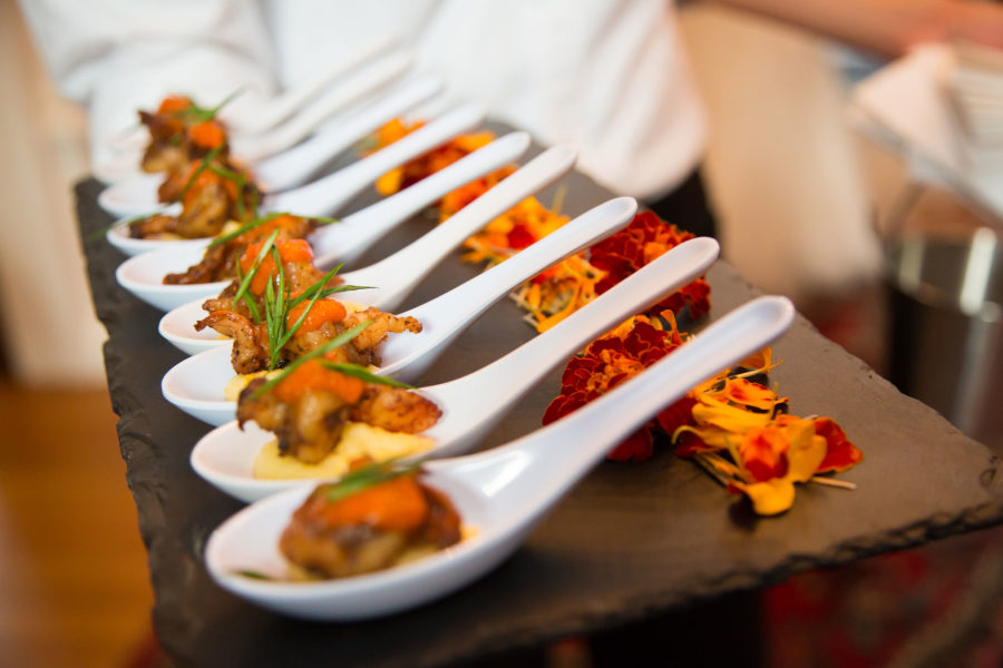 Forklift Catering - Inspiration - Allegro Photography - Served Appetizers