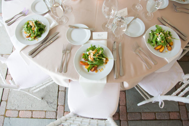 Forklift Catering - Inspiration - Allegro Photography - Plated Salad