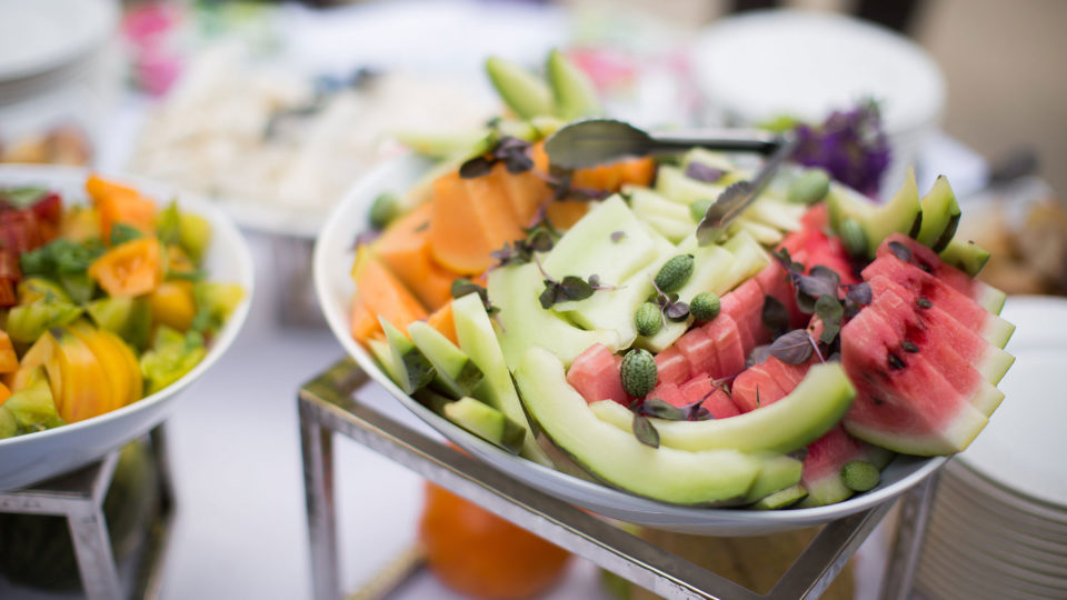 Forklift Catering - Wedding - Salad - Fruit Station